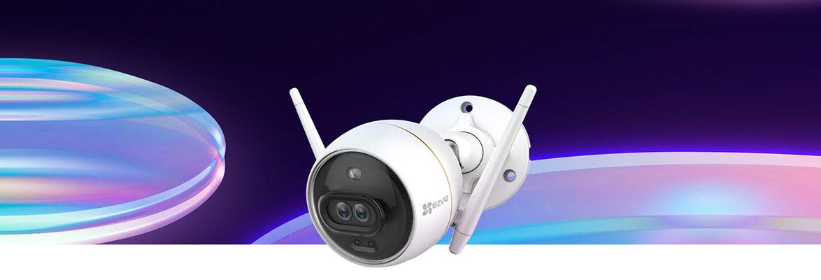Camera an ninh đầu tiên sử dụng ống kính kép